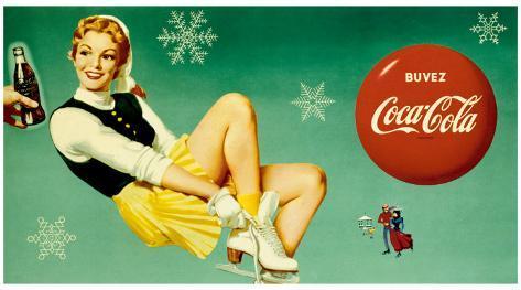 Coca-Cola Framed Giclee Print
