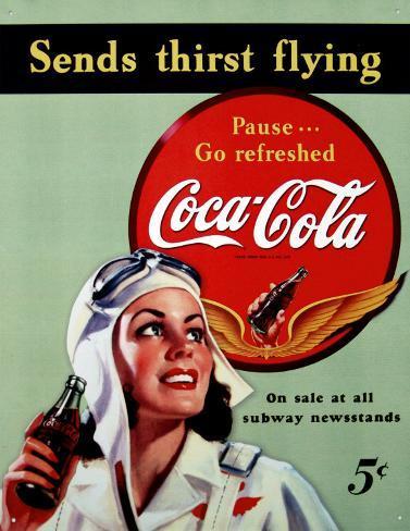 Coca- Cola Tin Sign
