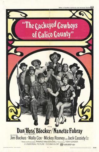 Cockeyed Cowboys of Calico County Masterprint