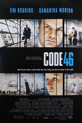Código 46 Pôster original