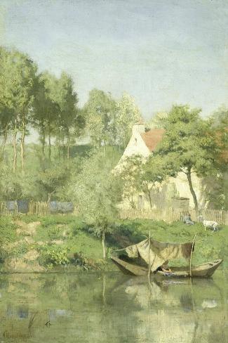 On the Oise Art Print