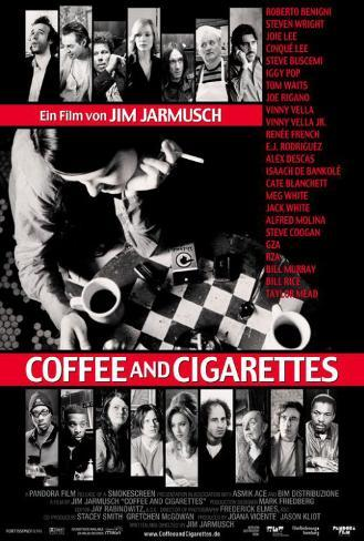 Coffee and Cigarettes - German Style Poster