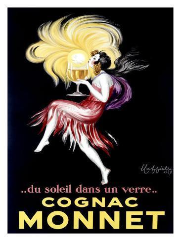 Cognac Monet Giclee Print