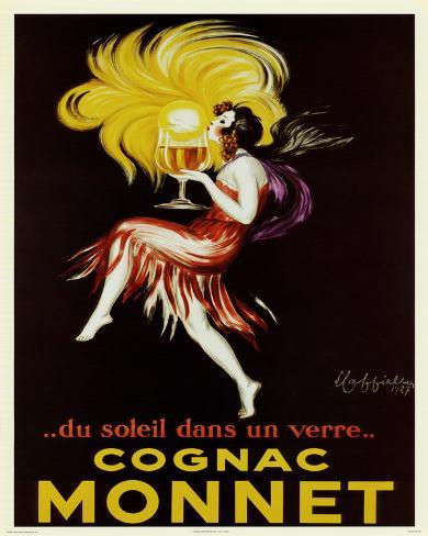 Cognac Monnet, ca 1927|Cognac Monnet, c.1927 Miniposter