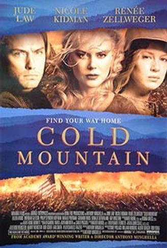 Cold Mountain Original Poster