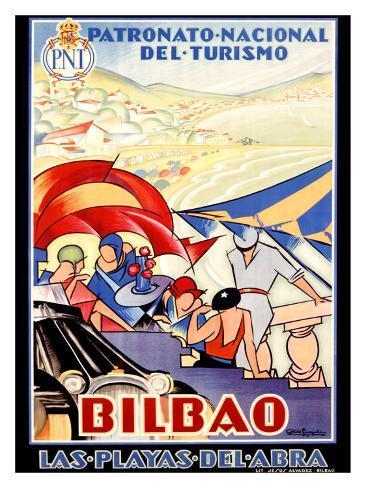 Bilbao Giclee Print
