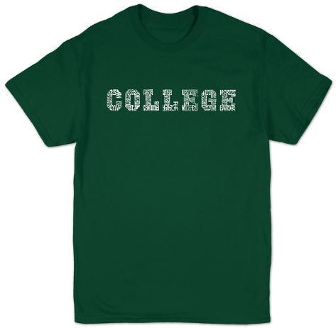 College Drinking Games T-Shirt