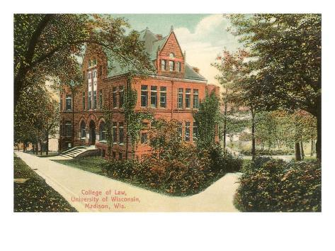 College of Law, University of Wisconsin, Madison Art Print