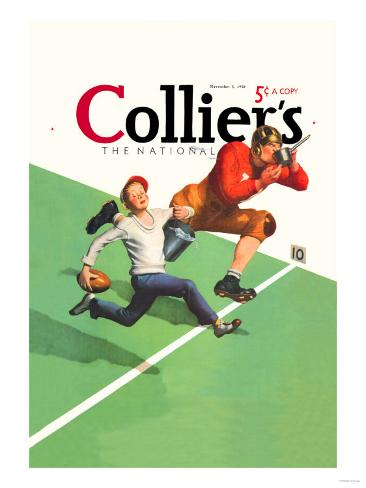 Collier's National Weekly, Waterboy Art Print