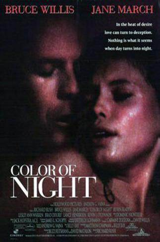 Color Of Night Double-sided poster