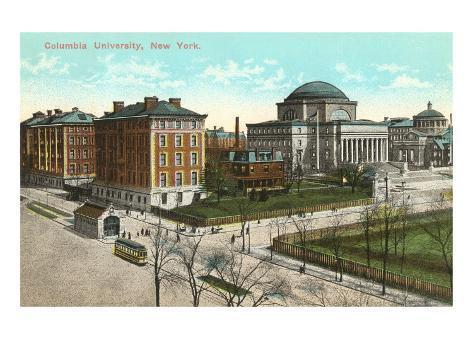 Columbia University, New York City Art Print