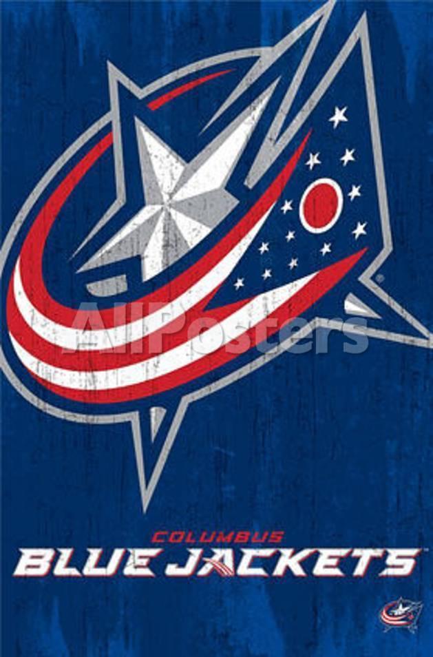Columbus Blue Jackets Logo Print At Allposters