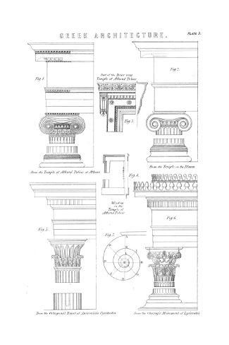 Columns, Classical Stampa giclée