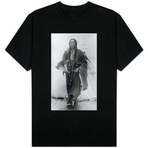 Comanche Chief Quanah Parker Photograph T-Shirt