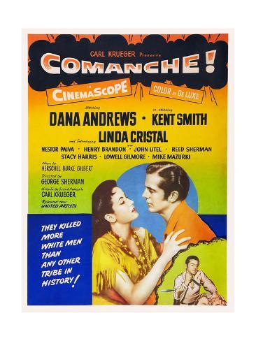 Comanche Giclee Print