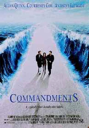 Commandments Original Poster