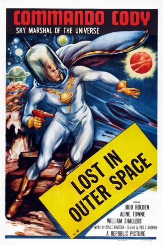 Commando Cody: Sky Marshal of the Universe, Episode 11: 'Lost in Outer Space,' 1953 Art Print