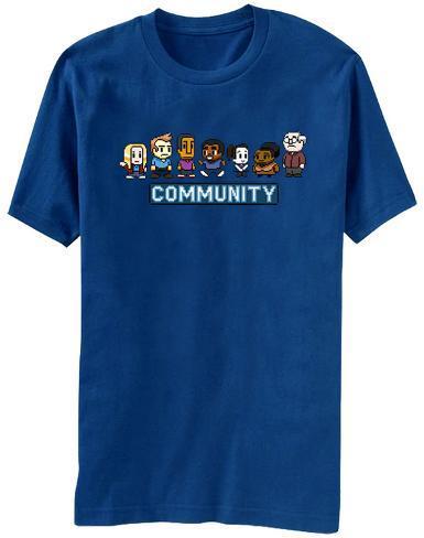 Community - 8 Bit T-Shirt