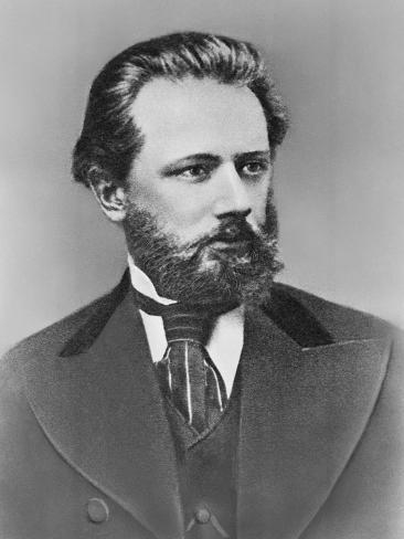 Composer Peter Ilich Tchaikovsky Valokuvavedos