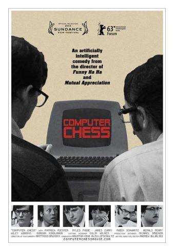 Computer Chess Movie Poster Masterprint