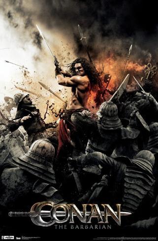 Conan - Sword Poster