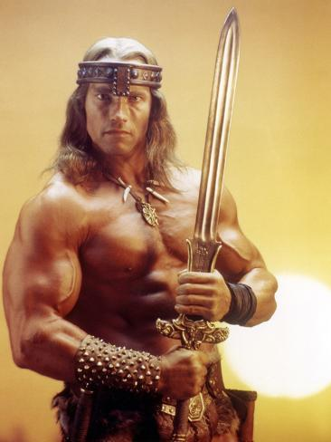 Conan the Destroyer, Arnold Schwarzenegger, by Richard Fleischer with, 1984 Fotografía