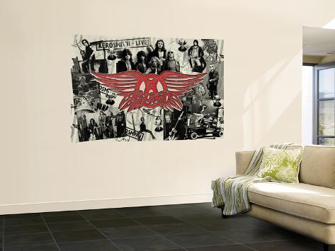 Concert Poster: Aerosmith Wall Mural