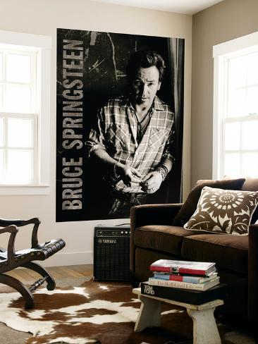 Concert Poster: Bruce Springsteen Wall Mural