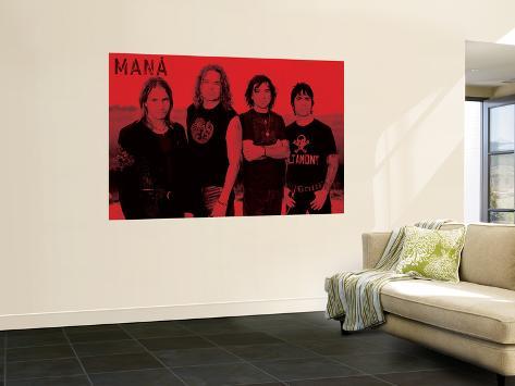 Concert Poster: Mana Laminated Oversized Art