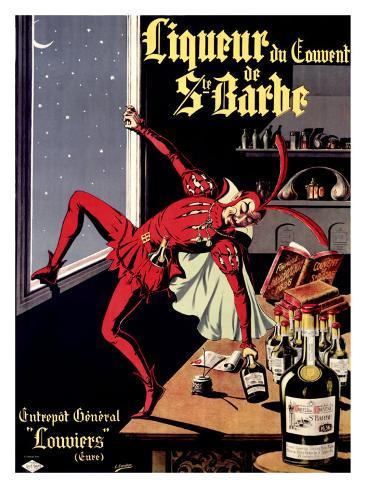Liqueur Ste. Barbe Giclee Print
