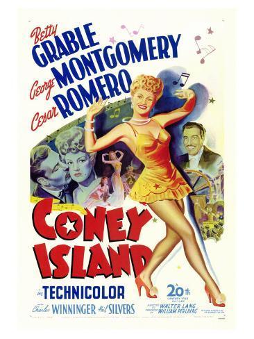 Coney Island, 1943 Art Print