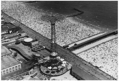 Coney Island Archival Photo Poster Poster