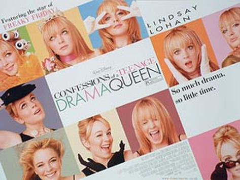 Confessions Of A Teenage Drama Queen Original Poster