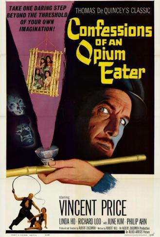 Confessions of an Opium Eater ポスター
