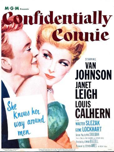 Confidentially Connie Art Print