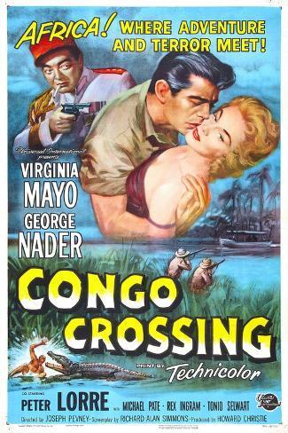 Congo Crossing Konstprint