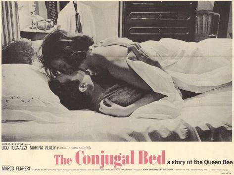 Conjugal Bed, 1964 Art Print
