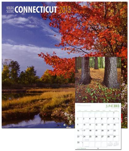 Connecticut, Wild & Scenic - 2013 Wall Calendar Calendars