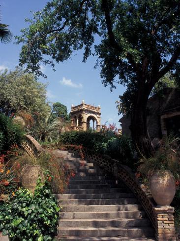 Public Garden of Taormina, Sicily, Italy Photographic Print