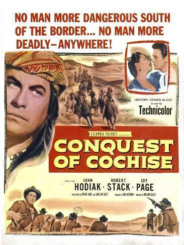 Conquest of Cochise Art Print