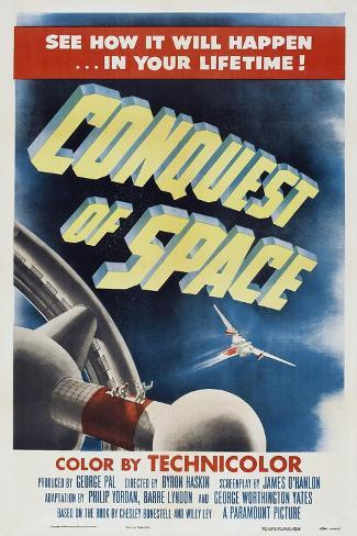 Conquest of Space, 1955 Art Print
