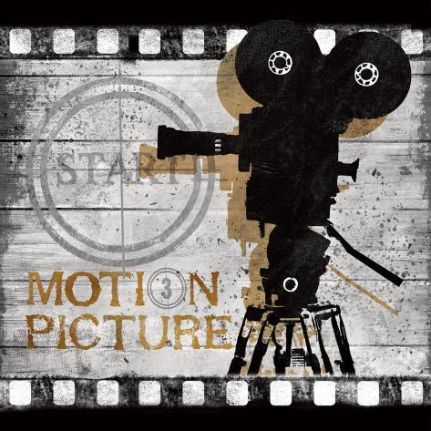 Motion Picture Art Print