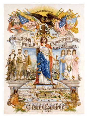 Columbia World Expo Giclee Print