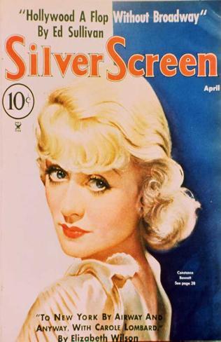 Constance Bennett - Silver Screen Magazine Cover 1930's Masterprint