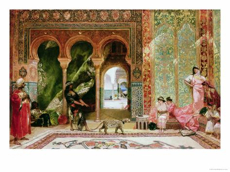 A Royal Palace in Morocco Giclee Print