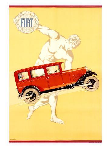 Fiat Giclee Print
