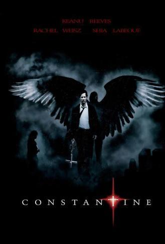 Constantine - Brazilian Style Poster