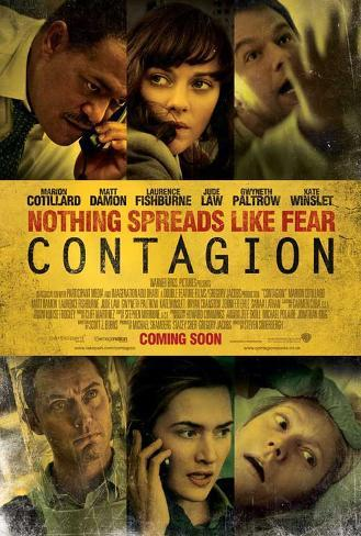 Contagion - UK Style Poster
