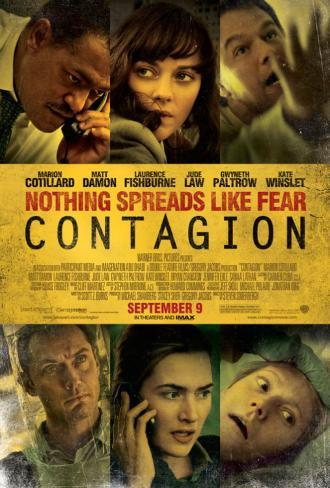Contagion Double-sided poster