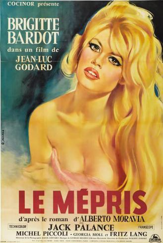 Contempt - French Style Poster